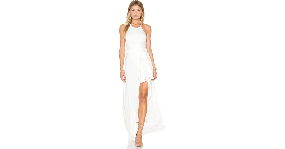 Rachel pally Kaia Maxi Dress in White | Lyst