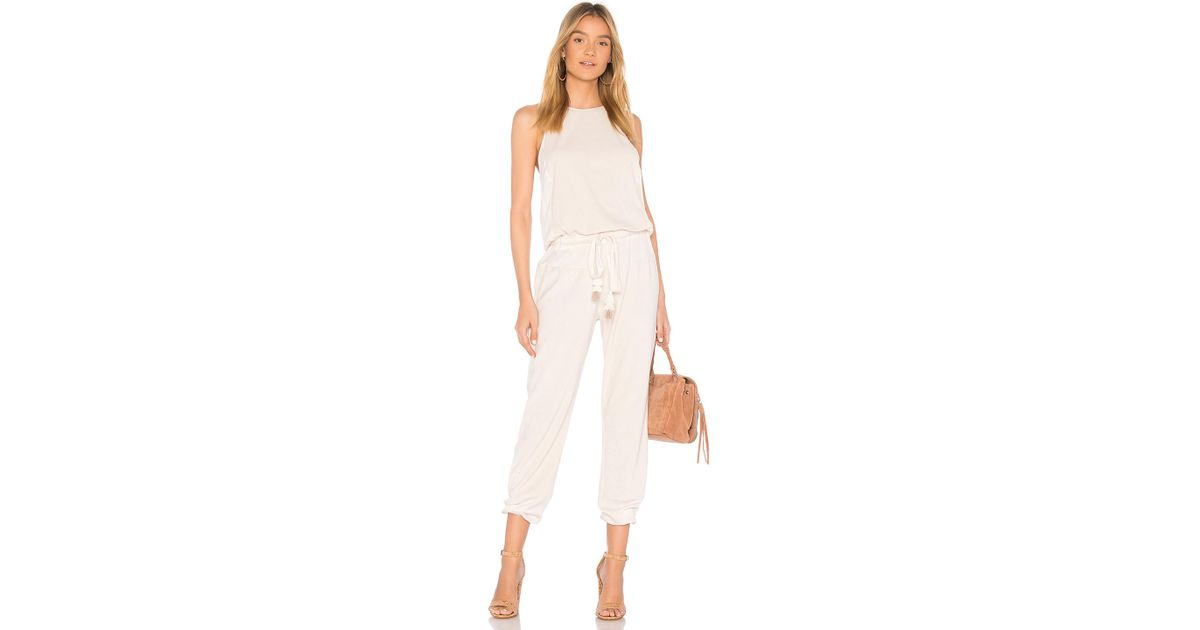 bfd67be76743 Lyst - Young Fabulous   Broke Diego Jumpsuit In Cream