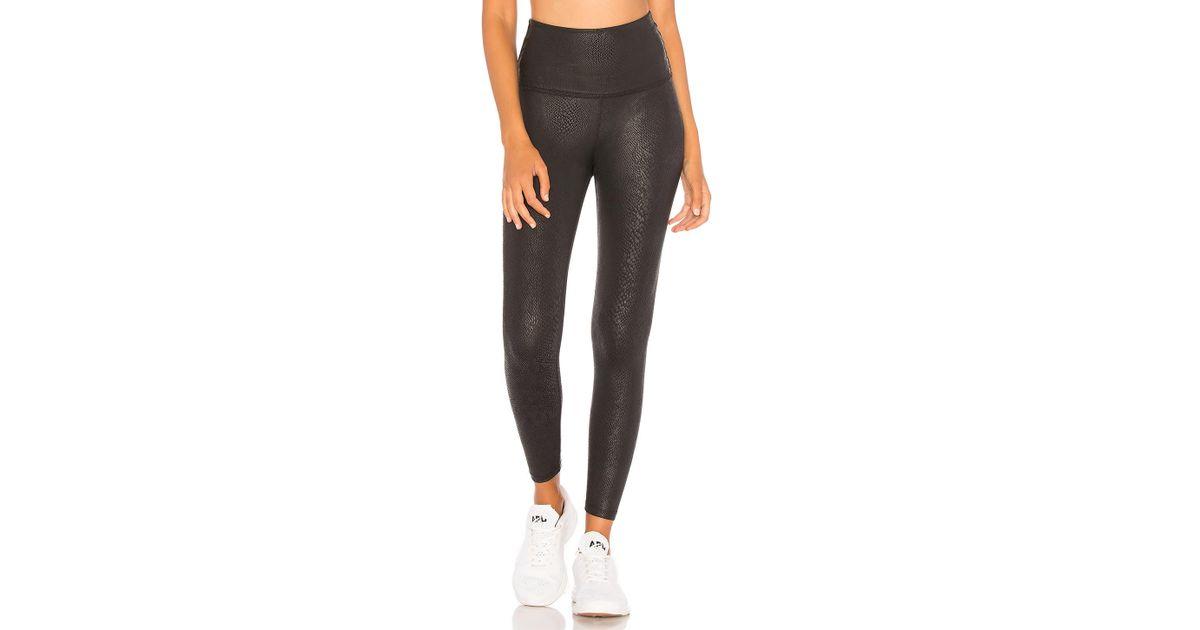 4da2be3440c1f Beyond Yoga Viper High Waisted Midi Legging in Black - Lyst