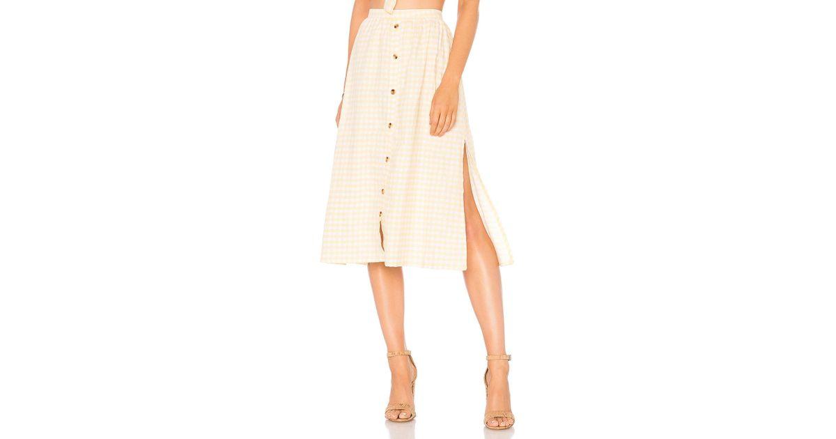 b825c3d5bb Lyst - Faithfull The Brand Seine Skirt