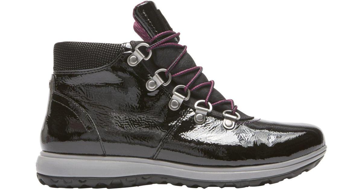 Lyst Rockport Xcs Britt Alpine Waterproof Low Boot In Black