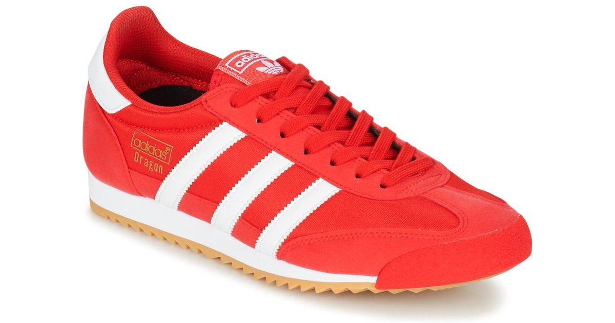 e508ab68186 adidas Dragon Og Men s Shoes (trainers) In Red in Red for Men - Lyst