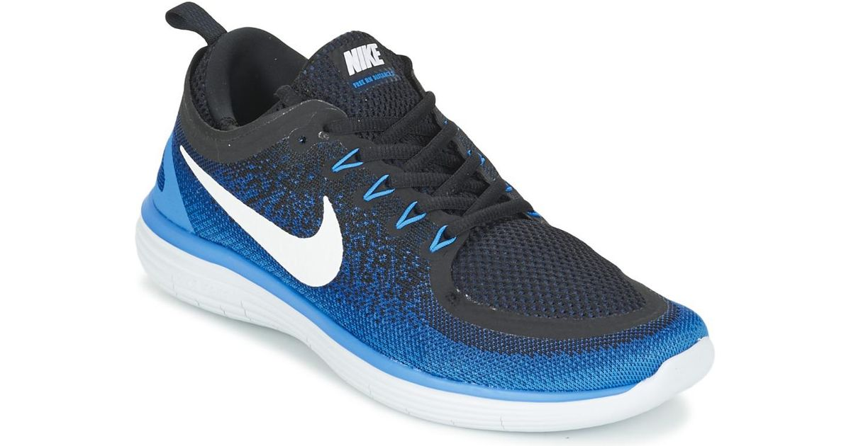 timeless design 2dae3 6879a Nike Free Run Distance 2 Running Trainers in Black for Men - Lyst