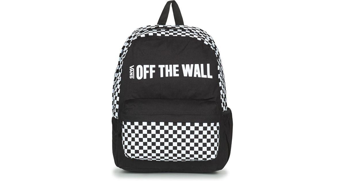 b78ea614f8d8c Vans Central Realm Backpack Backpack in Black for Men - Lyst