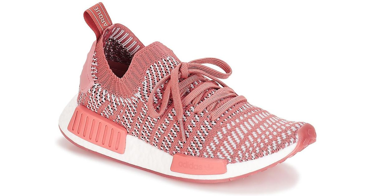 89aefd022325e adidas Nmd R1 Stlt Pk W Shoes (trainers) in Pink - Lyst