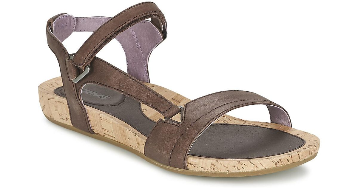 9938c58e7722 Teva Capri Universal Sandals in Brown - Lyst