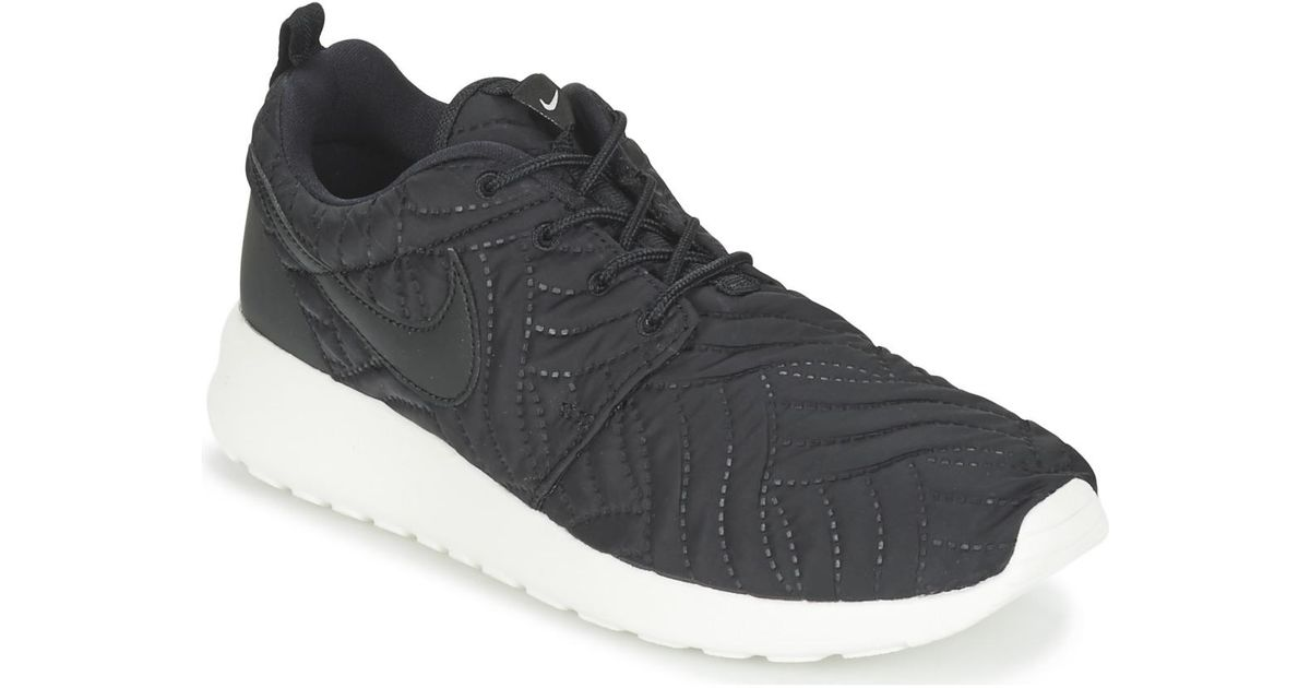 the latest da3e0 d49ed Nike - Black Roshe One Premium W Shoes (trainers) - Lyst