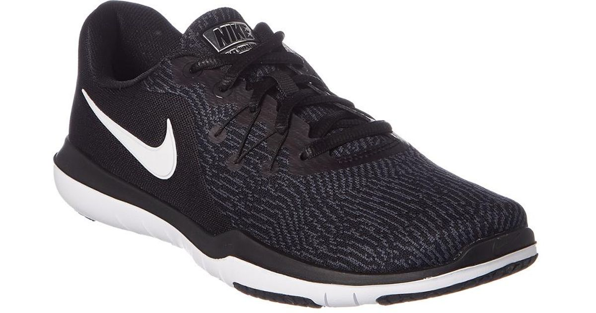 0c7c129a255 Lyst - Nike Women s Flex Supreme Tr 6 Training Shoe in Black