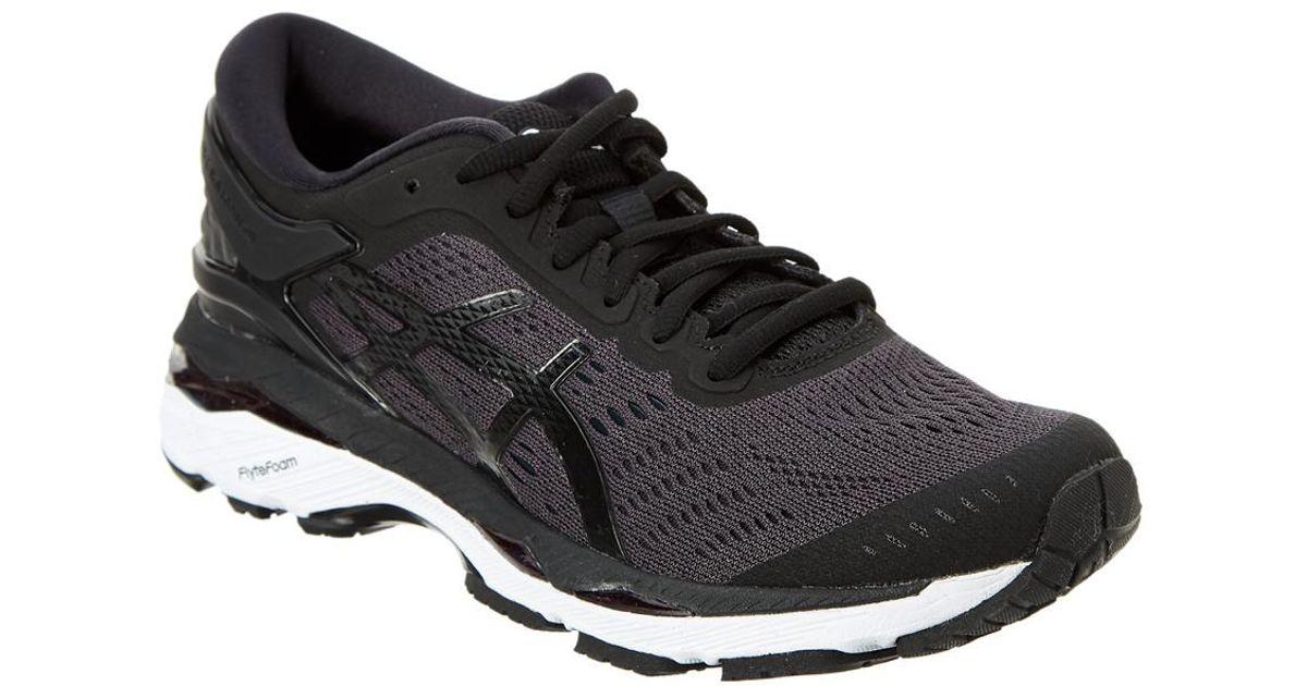 40dbde581aa Asics - Black Women's Gel-kayano 24 Running Shoe - Lyst