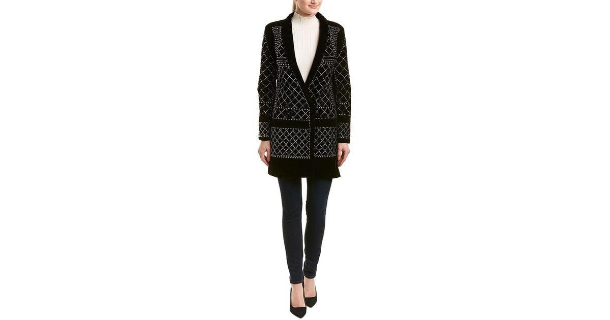 df66ebbadba9 Lyst - Haute Rogue Allison Studded Blazer Dress in Black