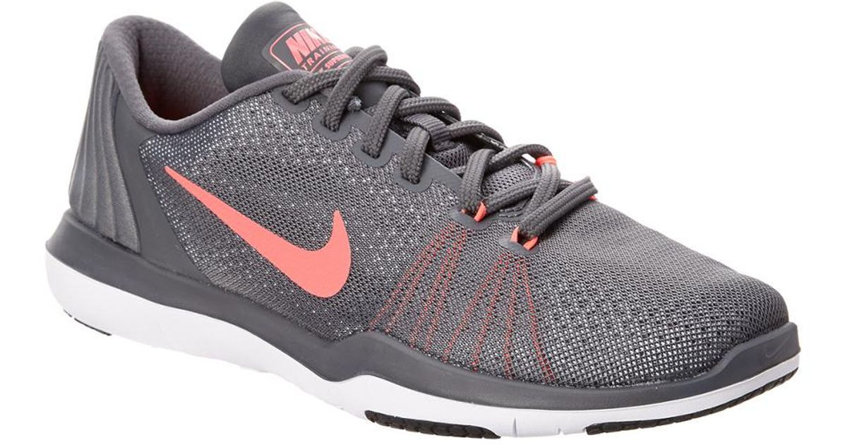 81a151be26d0 Lyst - Nike Women s Flex Supreme Tr 5 Training Shoe in Gray for Men