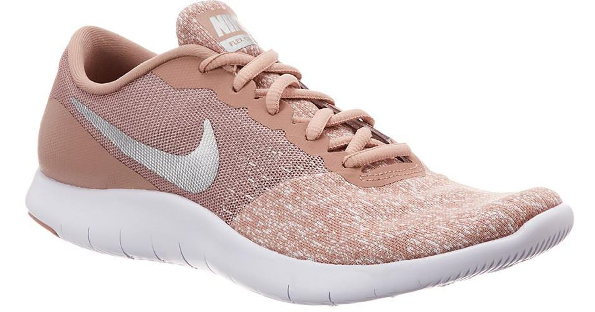 ed16532ce647 Lyst - Nike Flex Contact Running Shoe in Pink