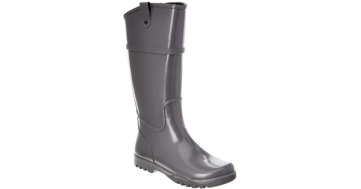 d3145733210 Lyst - Sperry Top-Sider Nellie Kate Rain Boot in Gray