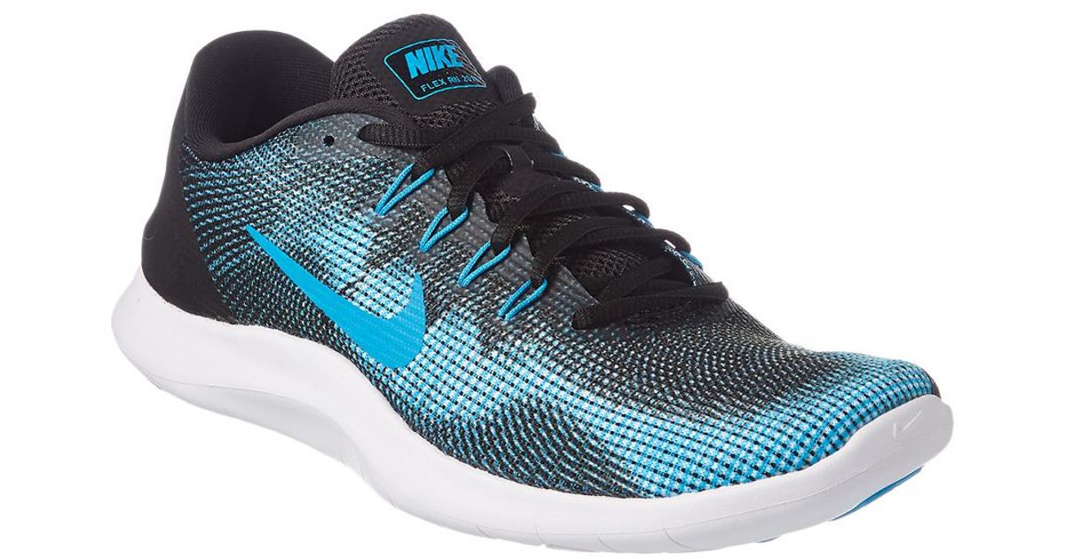 ccb638780c81a Lyst - Nike Men s Flex Rn 2018 Running Shoe in Black for Men