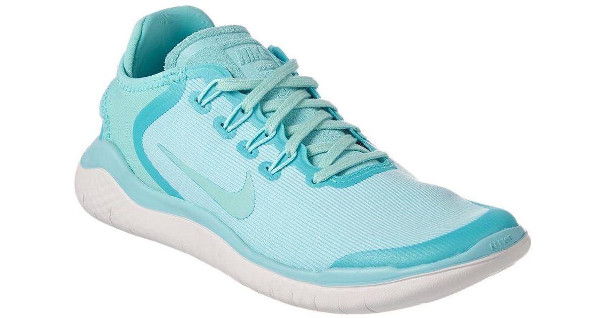 4ba3d6948d71 Lyst - Nike Free Rn 2018 Running Shoe in Blue