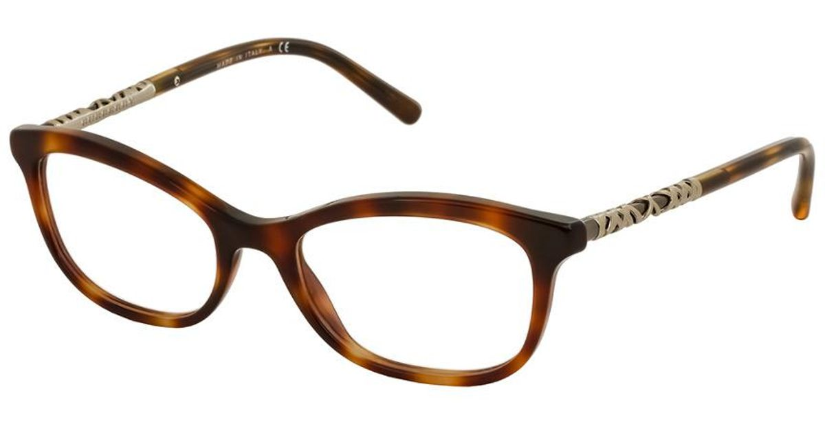 8f9df4aa92 Lyst - Burberry Women s Be2231 52mm Optical Frames in Brown