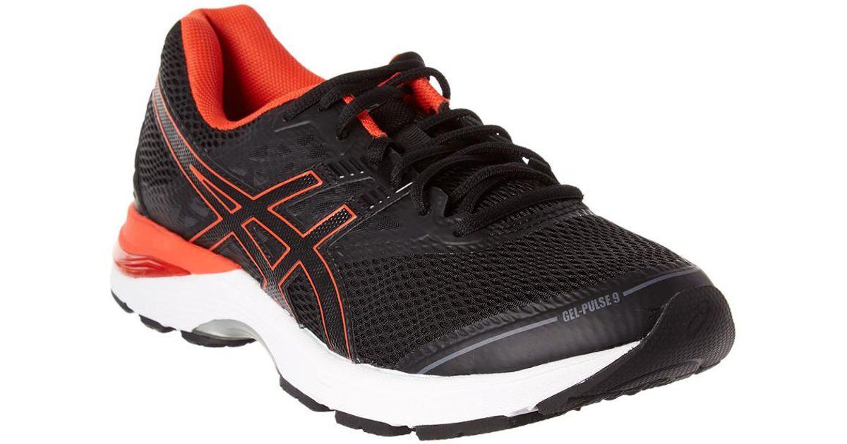 asics gel-pulse 9 running shoes