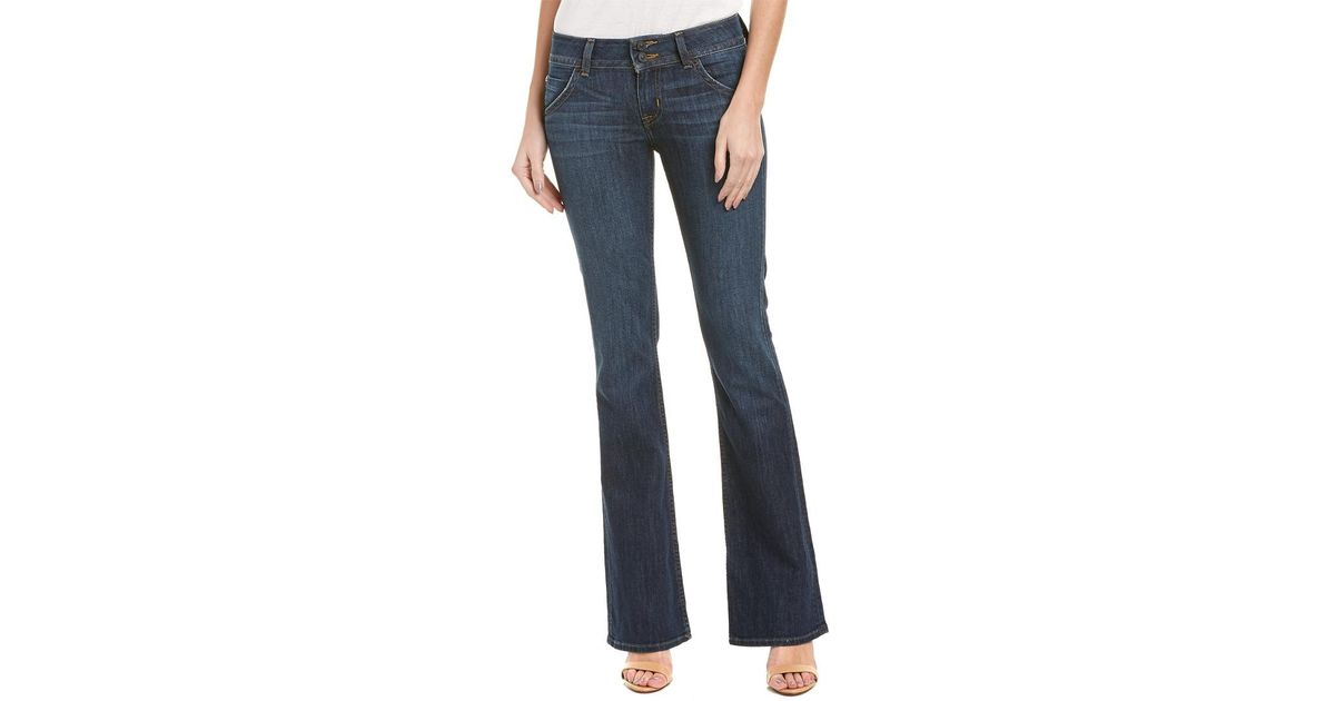 e2c190227c80b Lyst - Hudson Jeans Signature Well Bred Bootcut in Blue