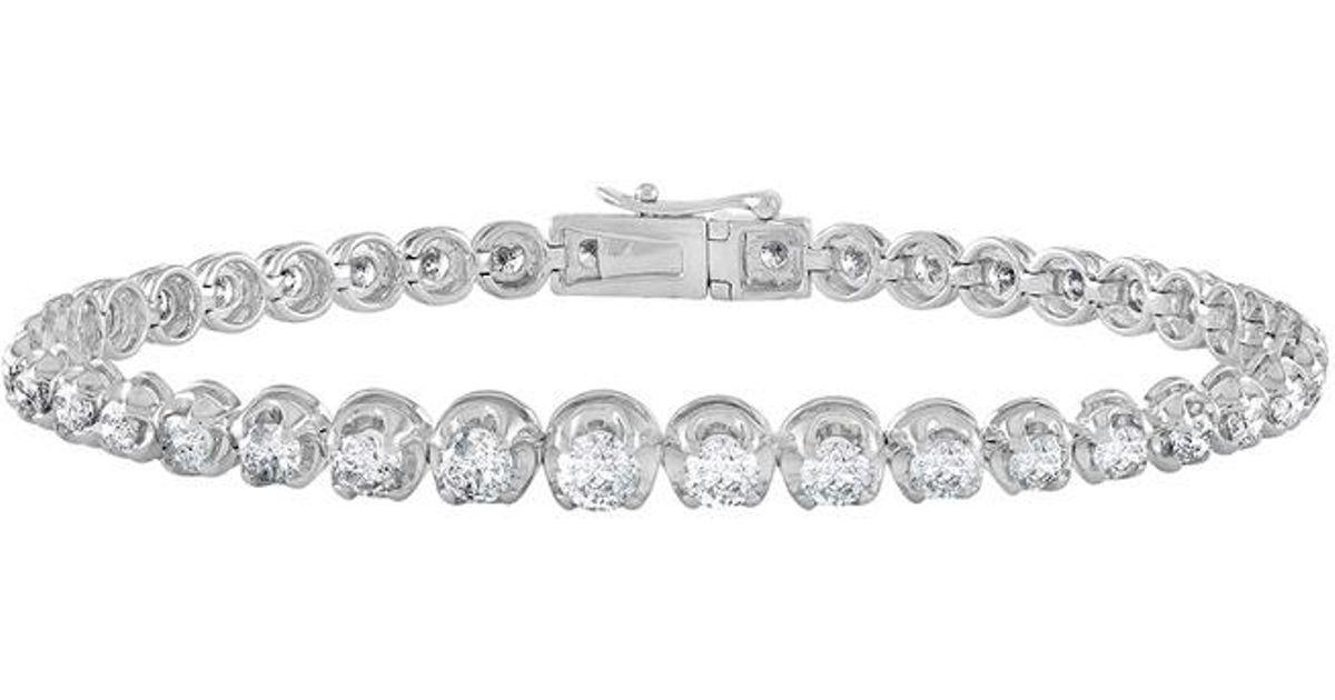 Diana M. Jewels 18k Two-Tone Diamond Link Bracelet 9N2tIq6Y