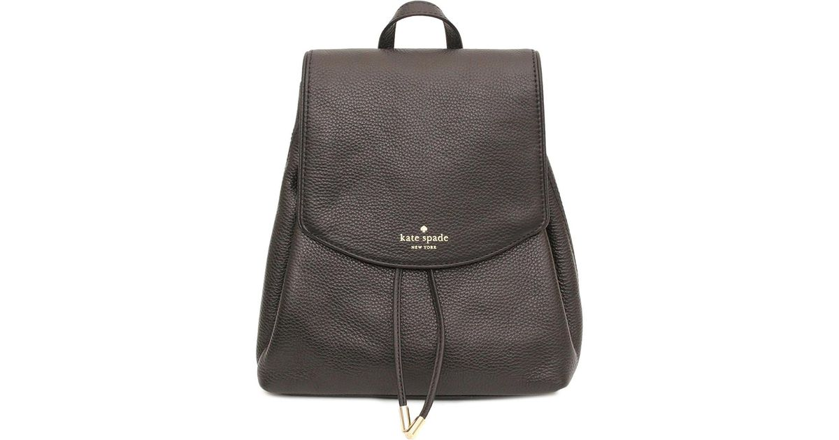 f66f42cd4ed7b Lyst - Kate Spade Mulberry Street Small Breezy Leather Backpack