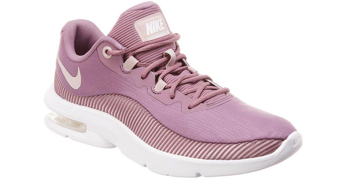 reputable site 8809d 6d63c Lyst - Nike Air Max Advantage 2 Mesh Sneaker in Purple