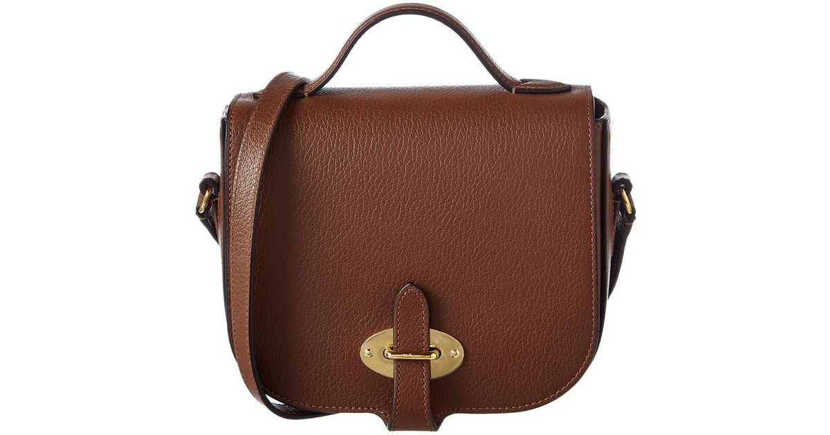 2d62ba310394 Mulberry - Brown Small Tenby Leather Crossbody - Lyst