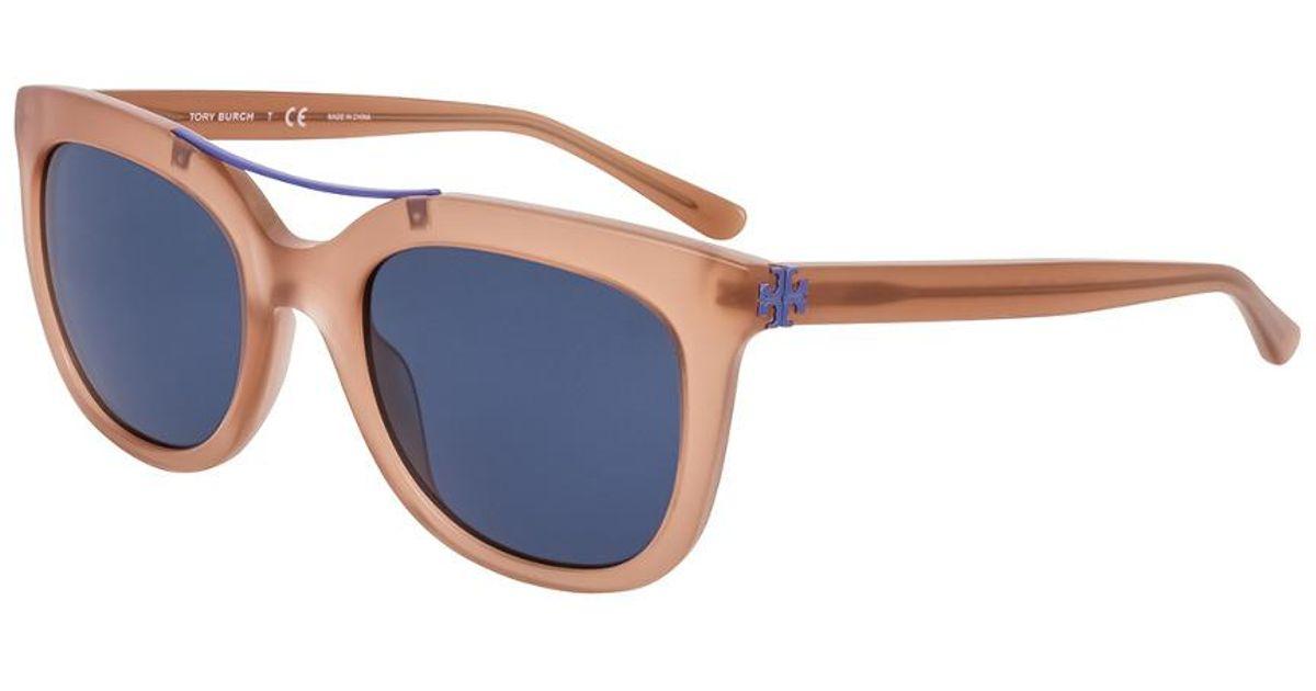936aea57631b Lyst - Tory Burch Women's Ty7105 53mm Sunglasses in Blue