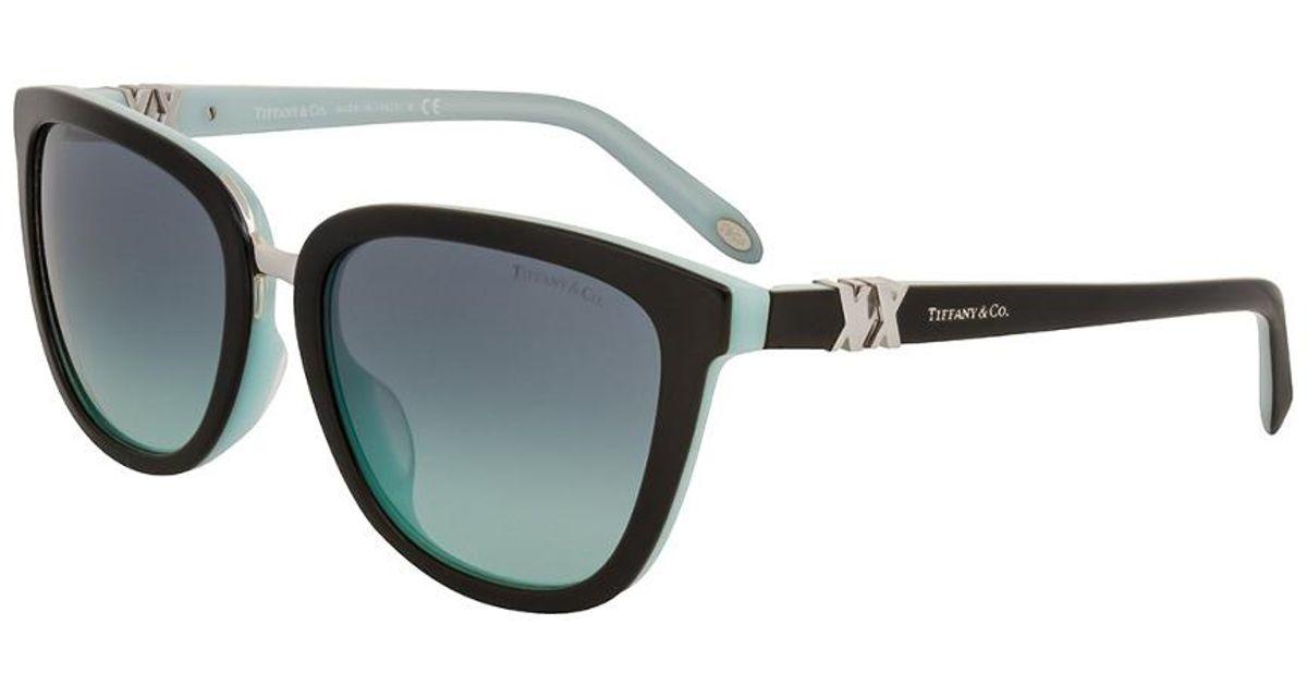 0c1e8f177dc Lyst - Tiffany   Co Women s Tf4123f 55mm Sunglasses in Black