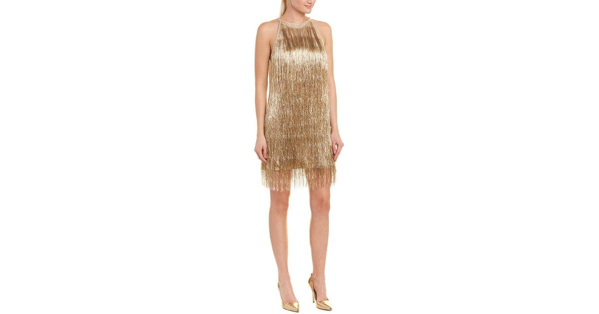 6c1942ee1309 Rachel Zoe Nova Shift Dress in Metallic - Lyst