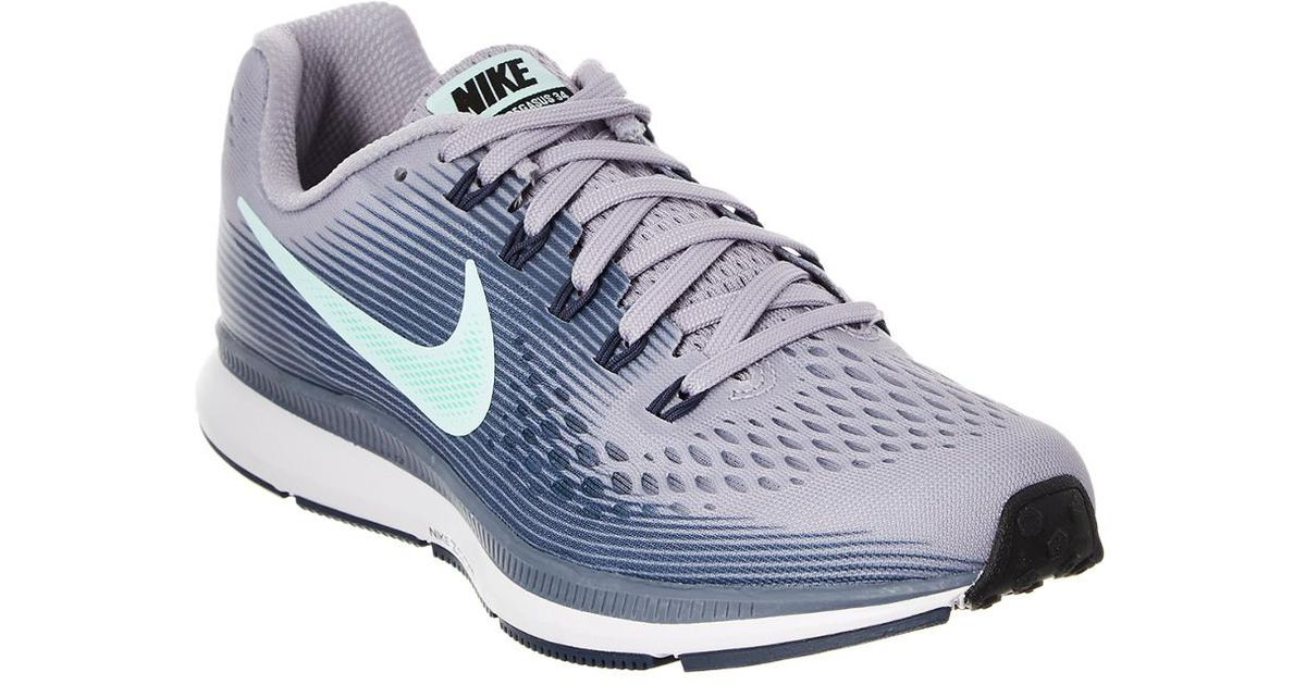 ad6990a5f59 Nike Air Zoom Pegasus 34 Running Shoe in Purple - Lyst