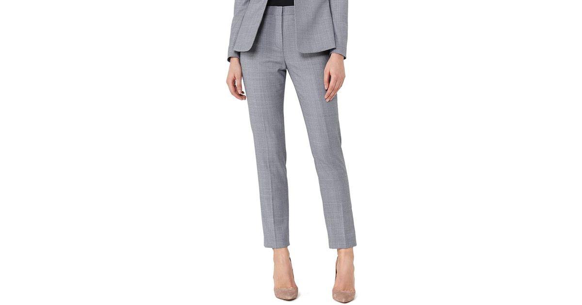 252e89f4d Lyst - Reiss Nicola Wool-blend Trouser in Blue