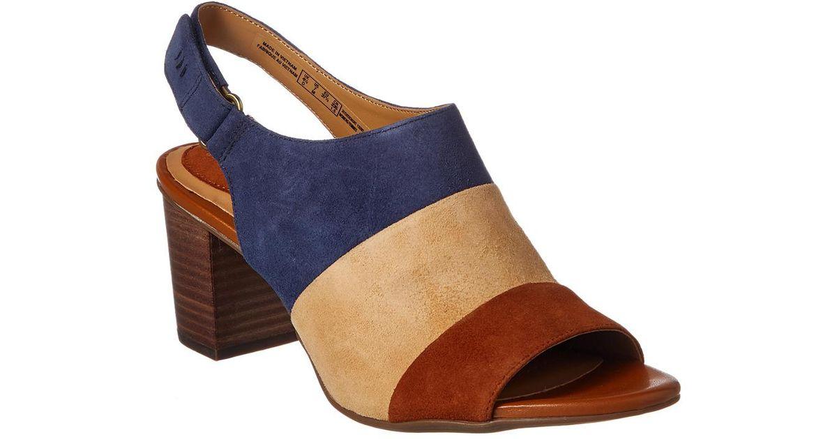 afe4cb636f88 Lyst - Clarks Artisan Ralene Shine Sandal in Blue