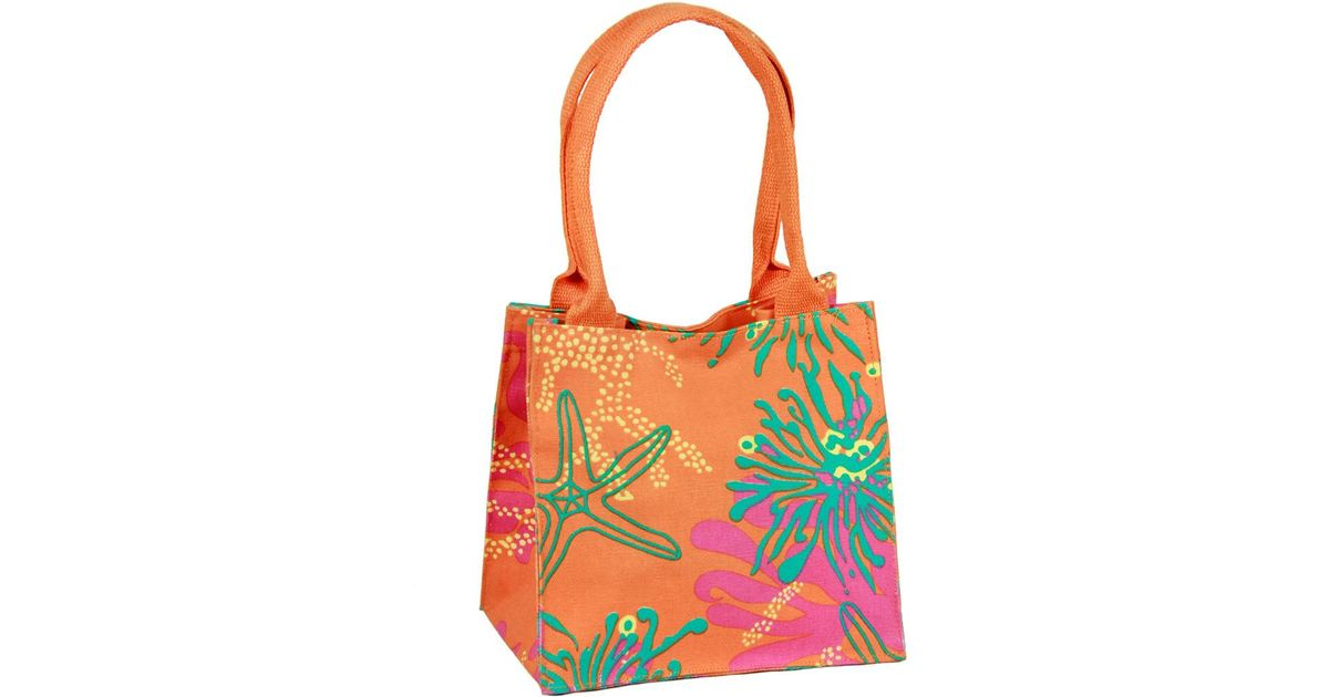 77091e328049 Saachi - Multicolor Cute Starfish Inspired Compact Lunch Bag - Lyst