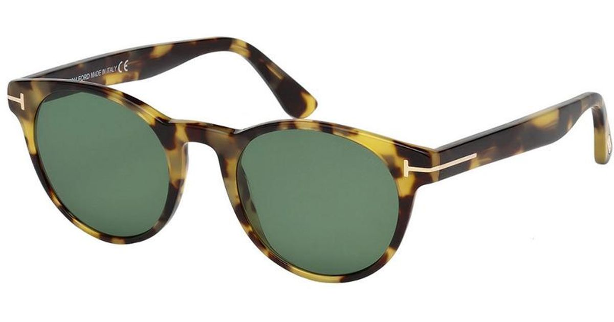 229b513fa0 Tom Ford Unisex Palmer 49mm Sunglasses in Green - Lyst