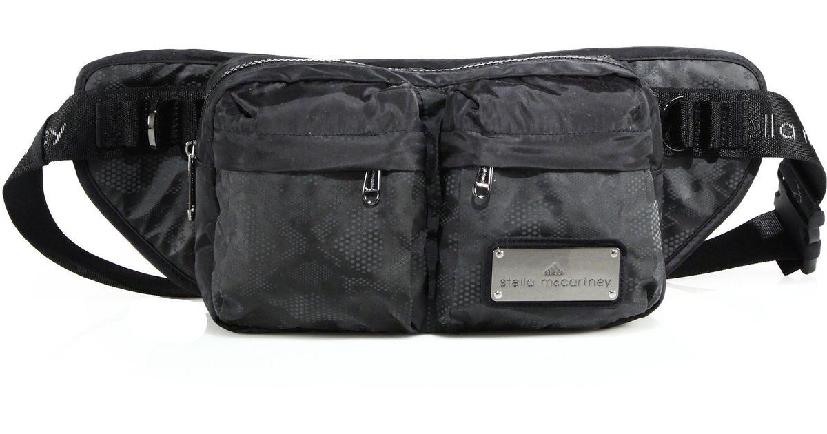 ebb1fc7e1fb Lyst - Adidas By Stella Mccartney Nylon Bum Bag in Gray
