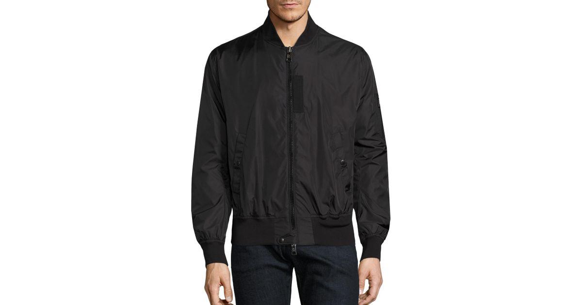 f31367605 Lyst - Moncler Timothy Bomber Jacket in Black for Men