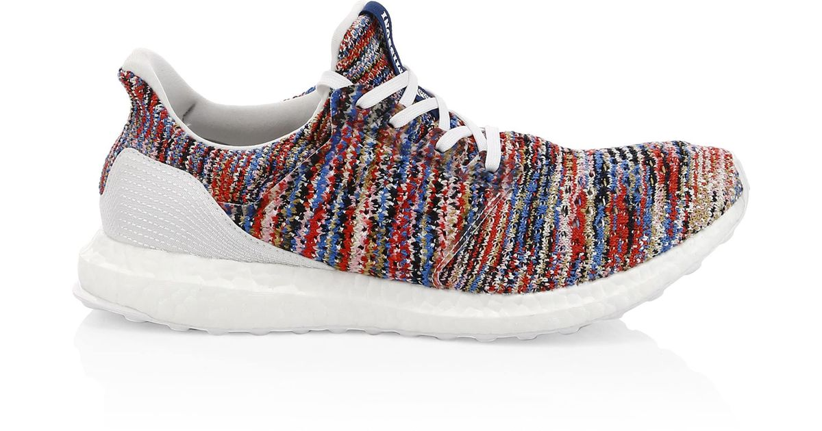 f1fb15f647e6e Lyst - adidas By Raf Simons Men s Ultraboost Clima X Missoni Knit Runners -  White Multi - Size 4 for Men