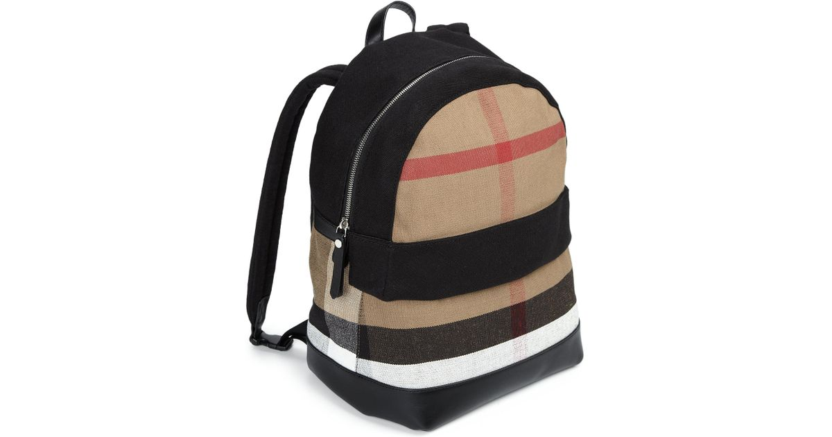 Burberry Kid S Tiller Backpack In Black Lyst