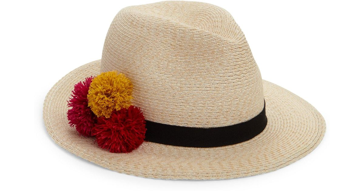 49219873e02cb Lyst - Eugenia Kim Lillian Hemp-blend Fedora Hat Ivory in White - Save 65%