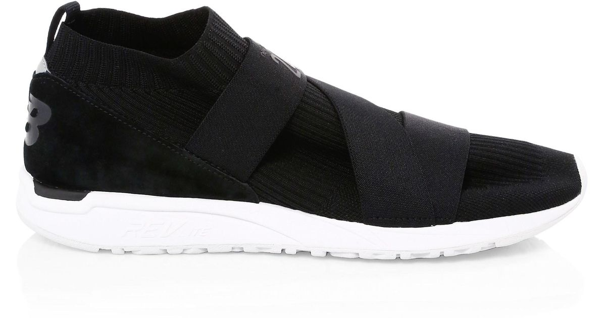 Lyst - New Balance Men s 247 Knit Runners - Black - Size 8 D in Black for  Men bf5f8eac239