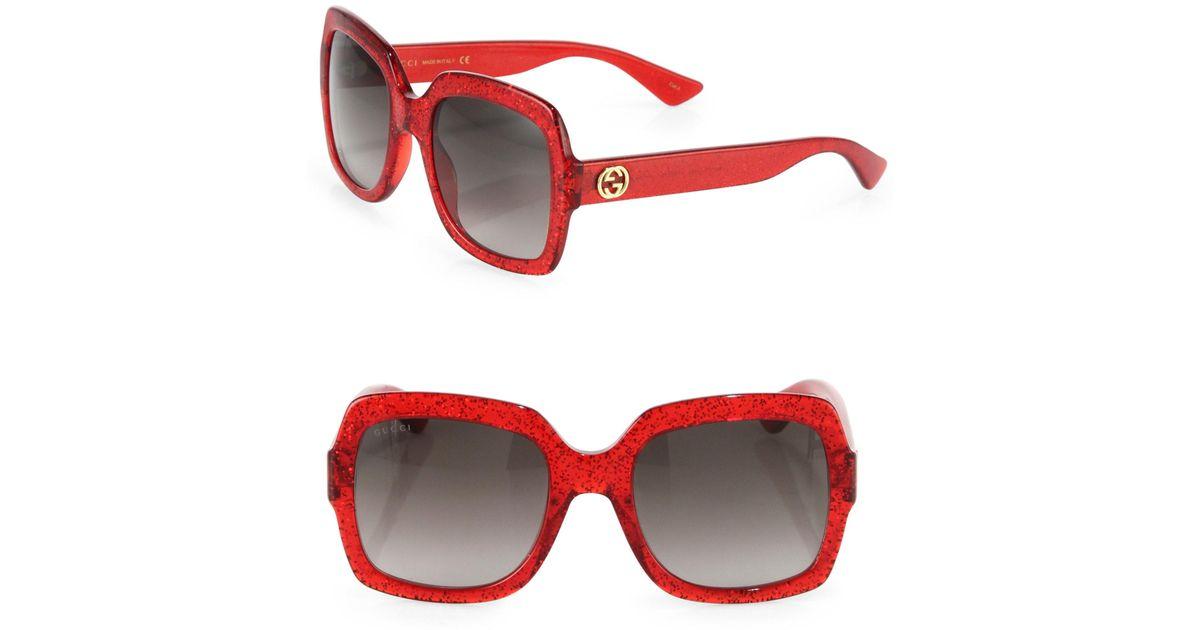 cfb95f9d98c Red Gucci Sunglasses