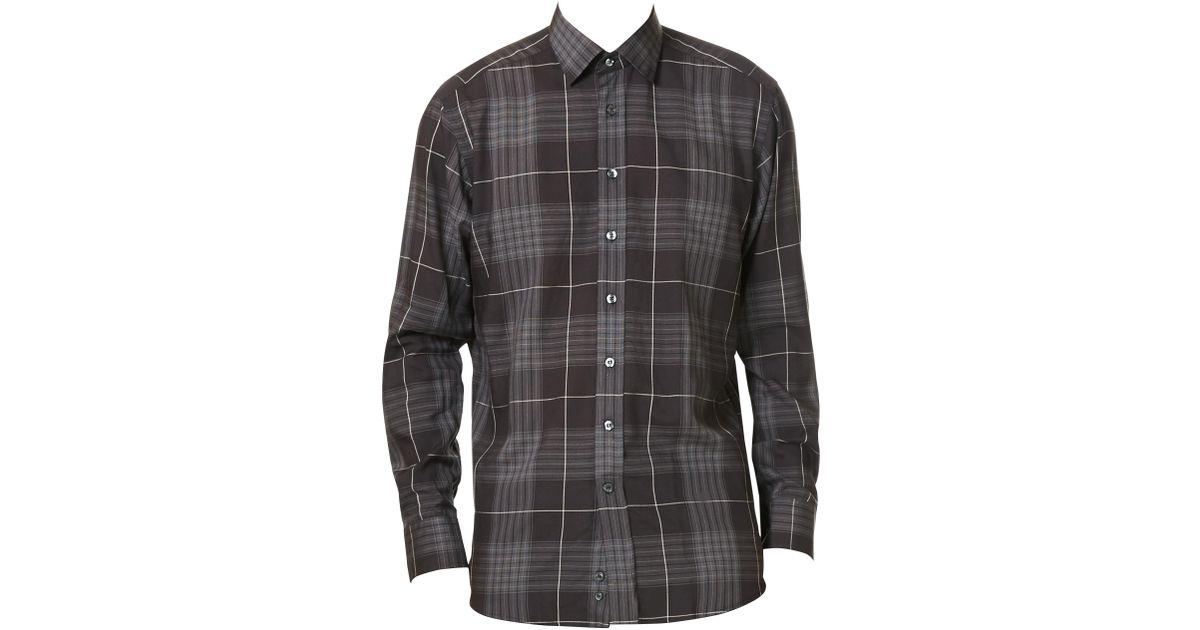 fb6cf380b Lyst - Etro Men's Window Casual Button-down Shirt - Black - Size 39 (15.5)  in Black for Men