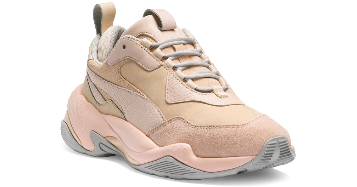 35c9f6b6f640 PUMA Thunder Desert Sneakers in Natural - Save 69% - Lyst