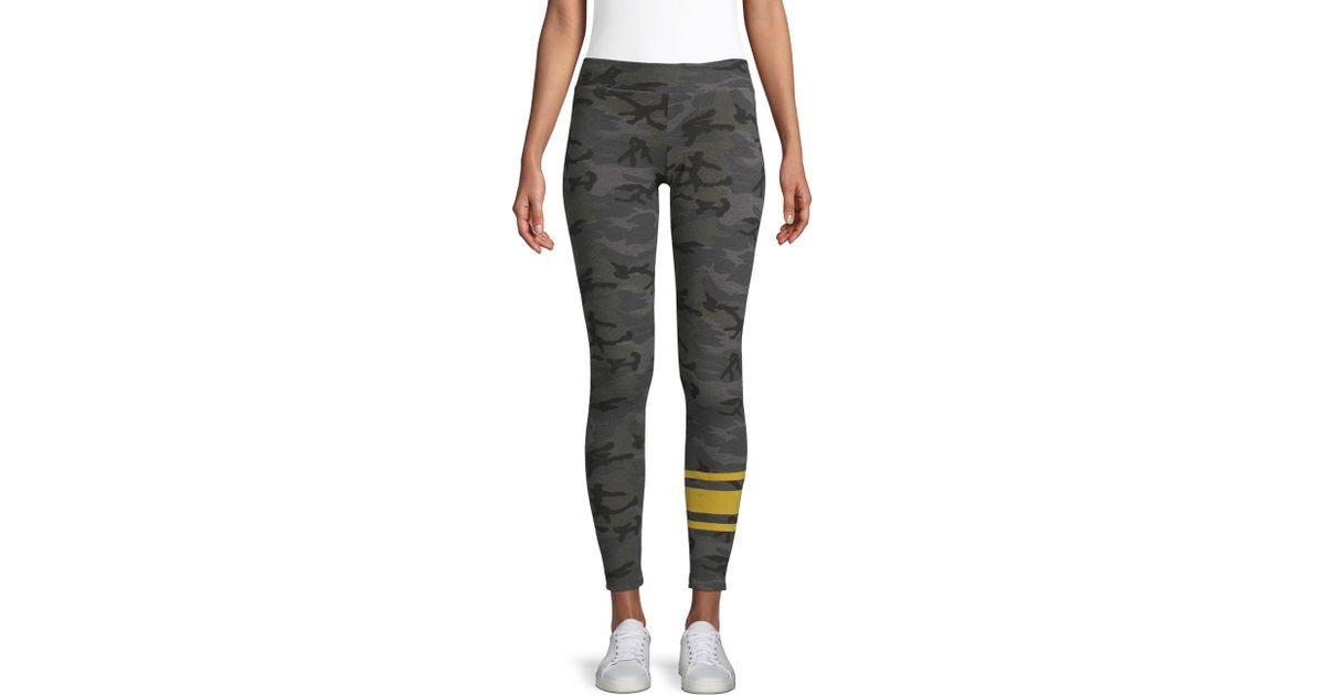 e20eae42a53c2 Sundry Camo Stripe Leggings - Lyst