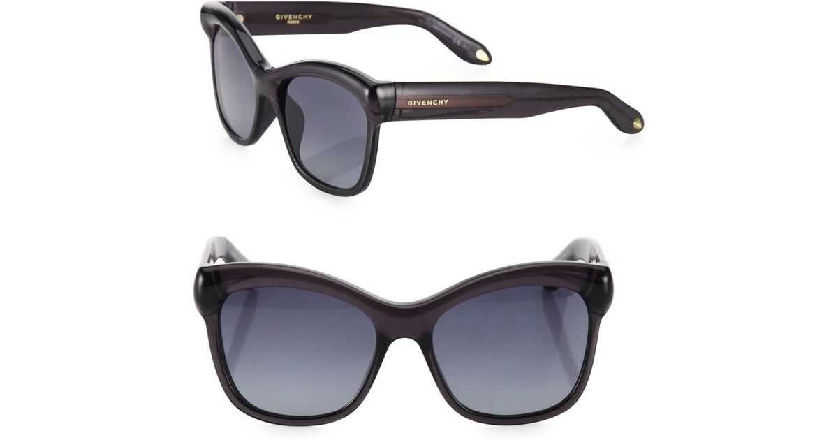333da17671be Givenchy 55mm Oversized Square Sunglasses in Gray - Lyst