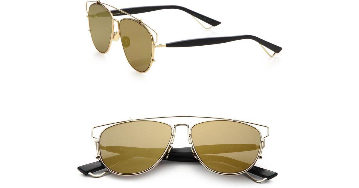 Dior Technologic 57mm Pantos Sunglasses in Metallic - Lyst f80957ca59cd