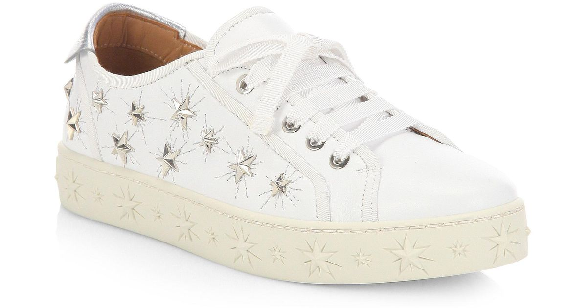 Cosmic Star leather sneakers Aquazzura 7o9hu