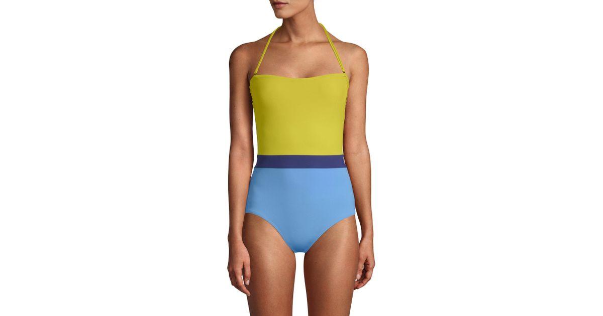 0172b005bfd Flagpole Swim Rita One-piece Swimsuit - Lyst