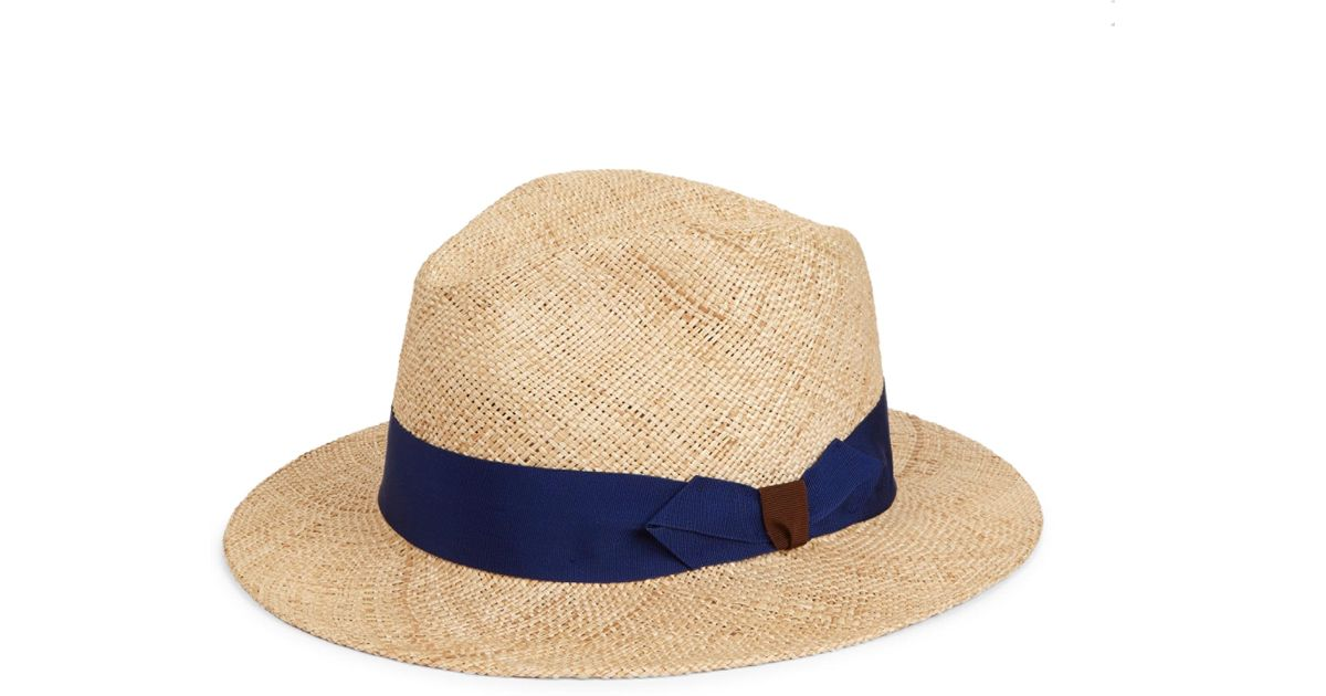 757eb96bada Lyst - Barbisio Men s Bao Straw Hat - Natural - Size 60 (xl) in Natural for  Men