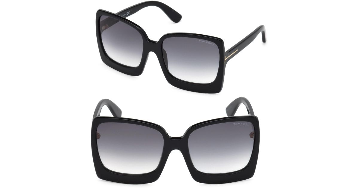 9058572e2a4 Tom Ford Tr000996 in Black - Save 22% - Lyst